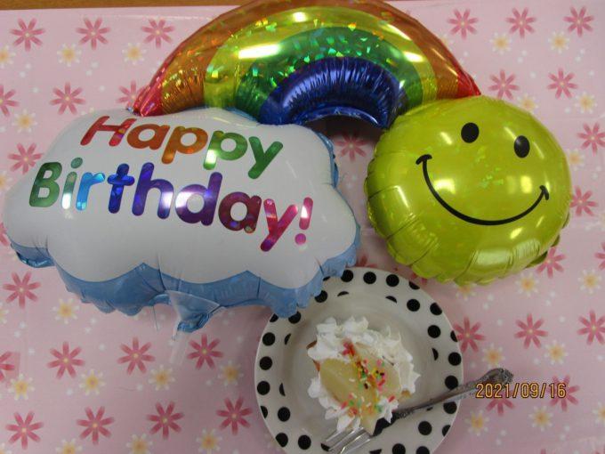 Happy Birthday、グループホーム西奈お誕生日会