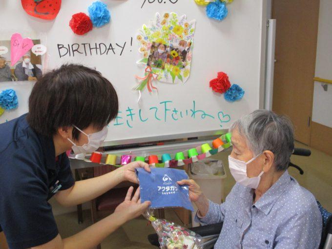 静岡市駿河区グループホーム_誕生日会と敬老会