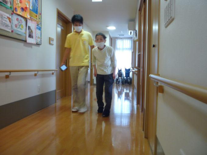 静岡市清水区グループホーム_秋のスポーツテスト